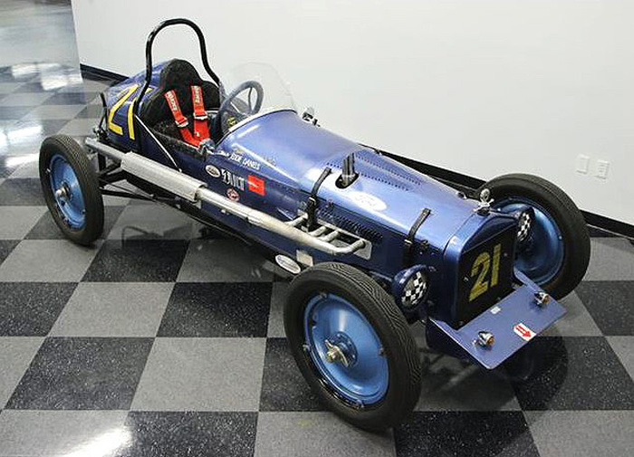 The Ford Model T Speedster is said to be ready to compete in historic racing events