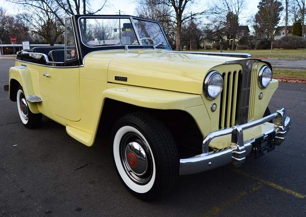 The Willys Jeepster was a more-civilized highway version of the military Jeep