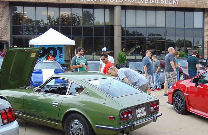 Cars and Coffee this weekend at automotive museums