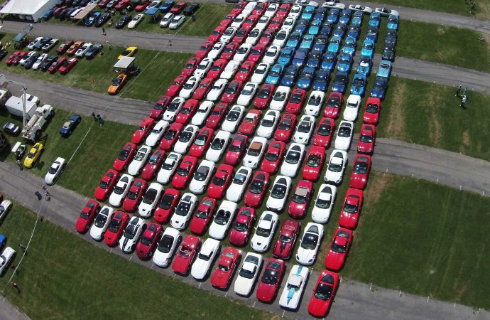 Mustangs to form American flag at Carlisle