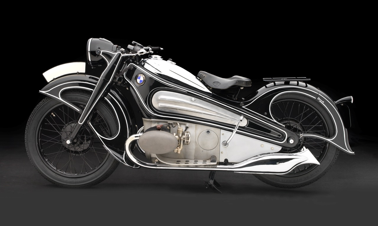 1934 BMW R7 concept motorcycle | Peter Harholdt photo courtesy BMW Classic Collection