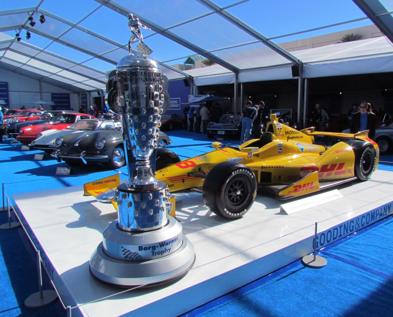 Was Gooding the wrong venue to sell an Indy car?