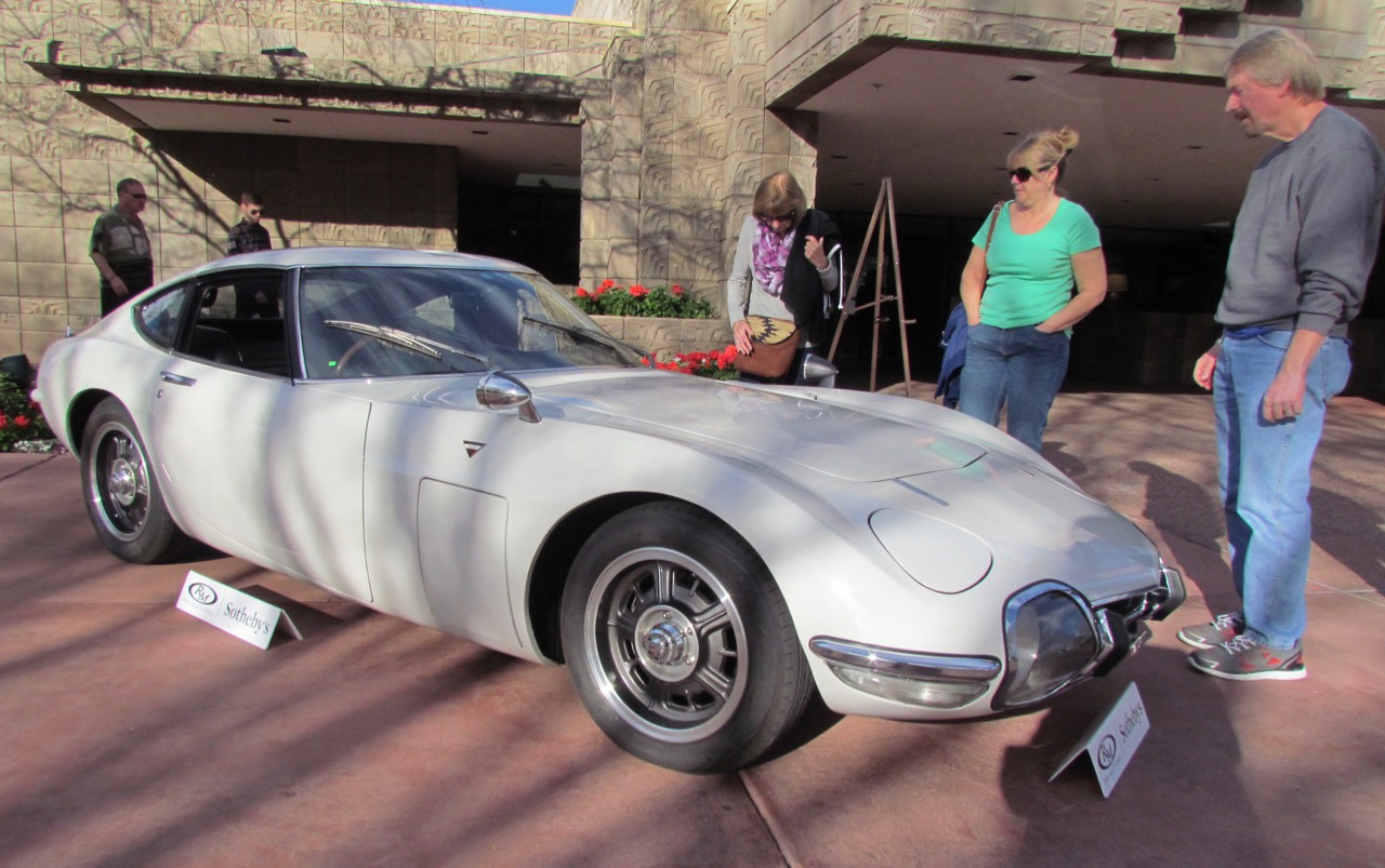 Toyota 2000GT likely to approach $1 million again -- someday