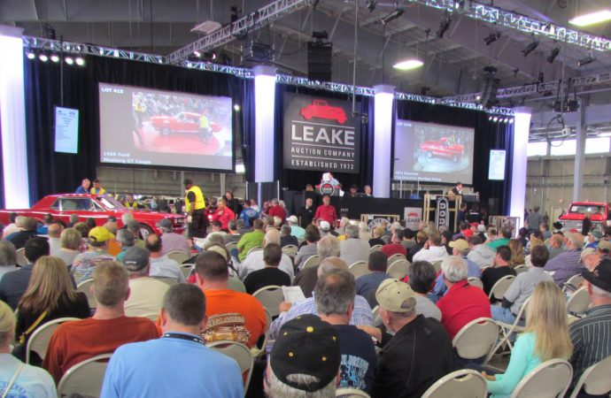 Leake posts record $12.5 million at OKC auction