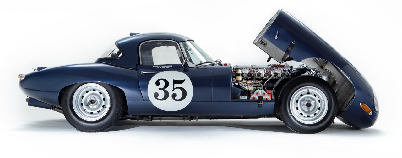 1961 Jaguar E-type among first readied for racing | H&H Classics photos