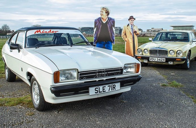 H&H auction features cars from Britain's 'Minder' TV series