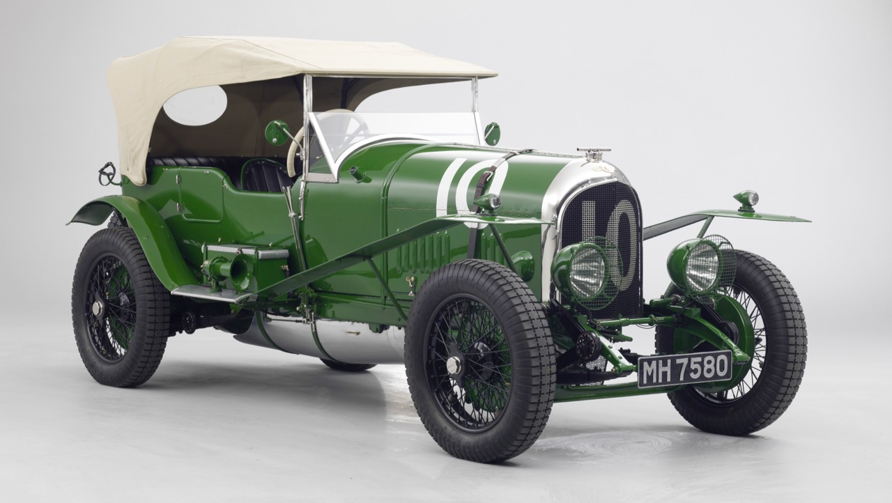 Having top up at Le Mans increased fuel consumption | William Medcalf Vintage Bentley photos