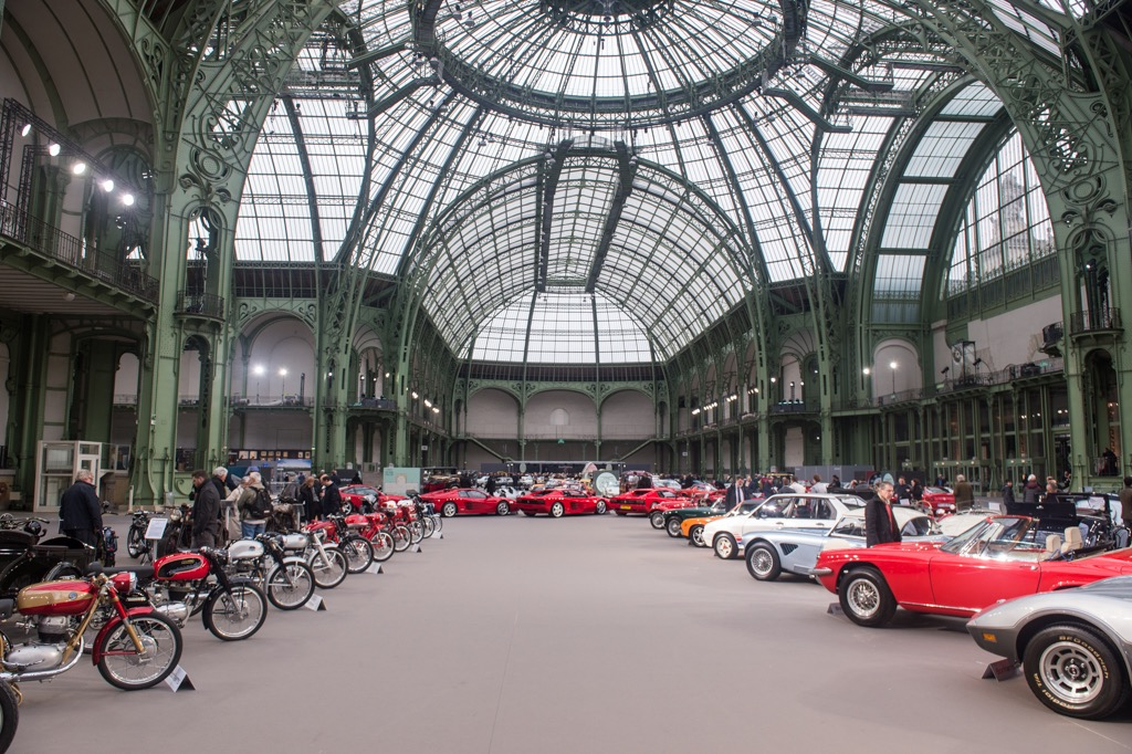 Bonhams sale is held in the spectacular Grand Palais