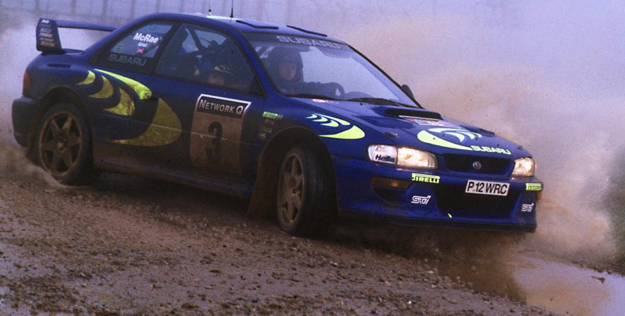 1997 World Rally Championship Subaru Impreza part of Japan's team |LAT photo 1st Position. World Copyright LAT Photographic