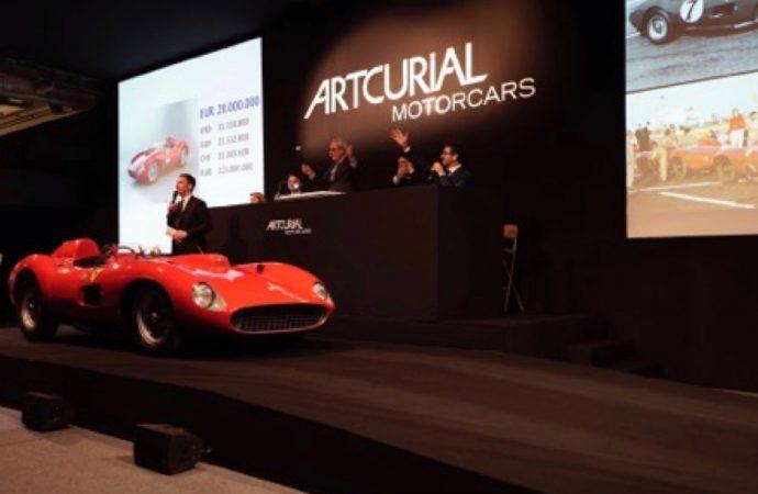 Bardinon Ferrari sets auction record* at Artcurial's Paris sale