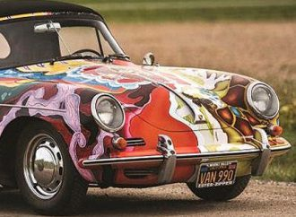 Janis Joplin's psychedelic Porsche set for Amelia Island Concours