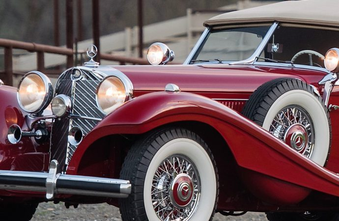 1939 Mercedes 540 K stars in RM Sotheby's Florida auction