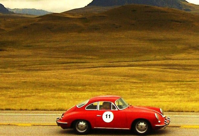 Vintage air-cooled Porsches invited to new rally