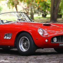 Ferrari 250 GT SWB California Spider highlights Gooding auction