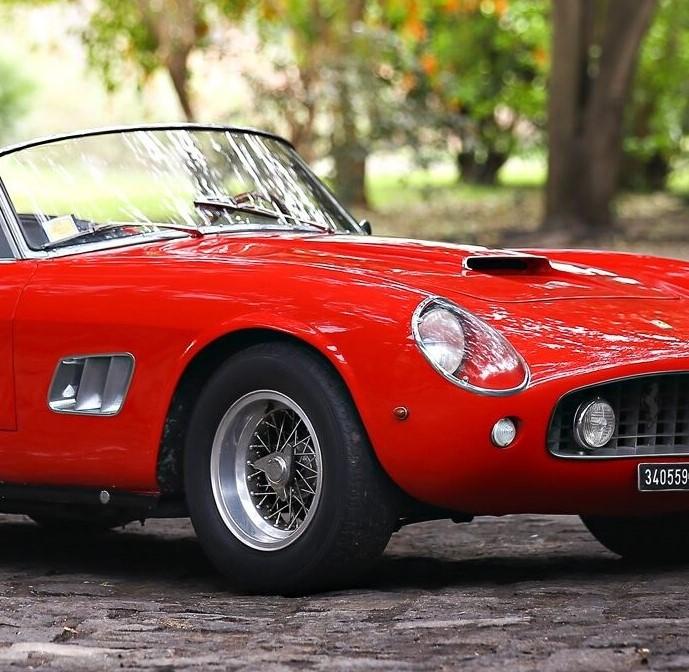 Ferrari 250 GT SWB California Spider Highlights Gooding