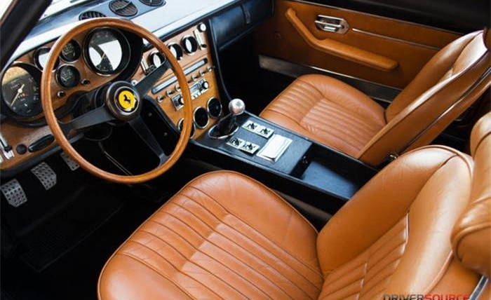 A sumptuous leather interior provides luxury accommodations