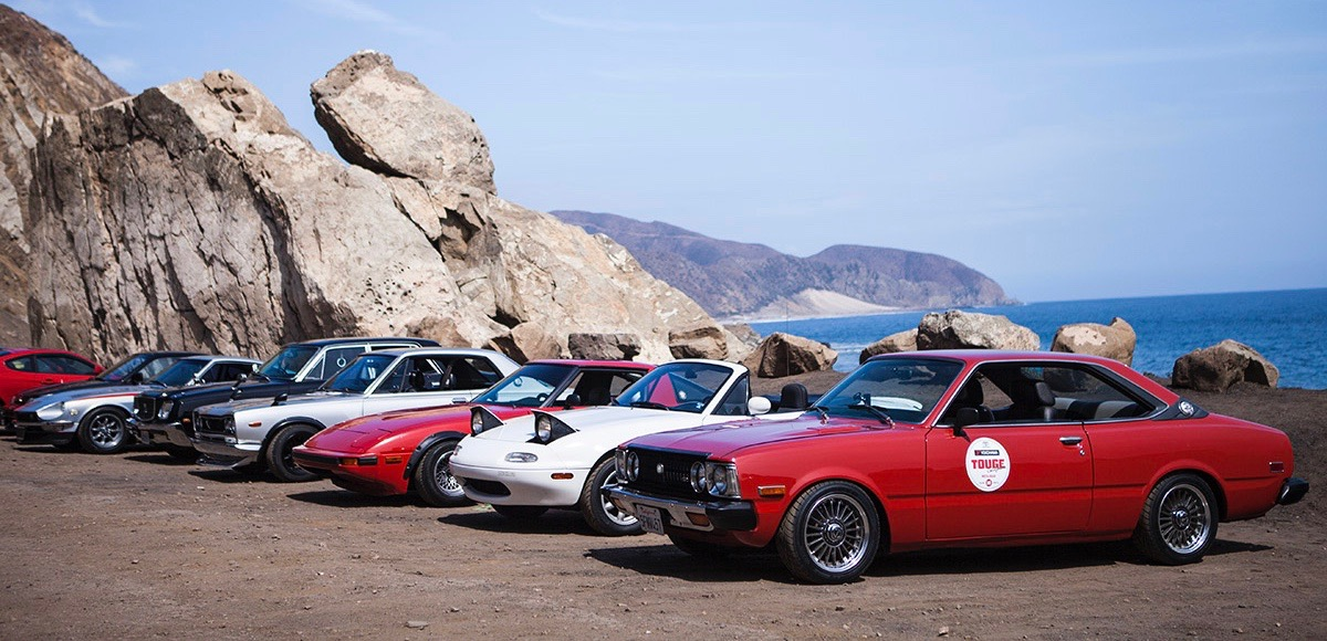 Some of the competitors in the inaugural Touge California in 2015 | Japanese Nostalgic Car photo