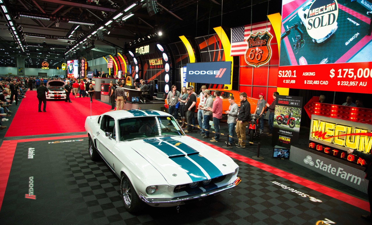 1967 Shelby GT500 on the block | Mecum Auction photos