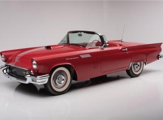 Countdown to Barrett-Jackson Palm Beach 2016: 1957 Ford Thunderbird F-code convertible