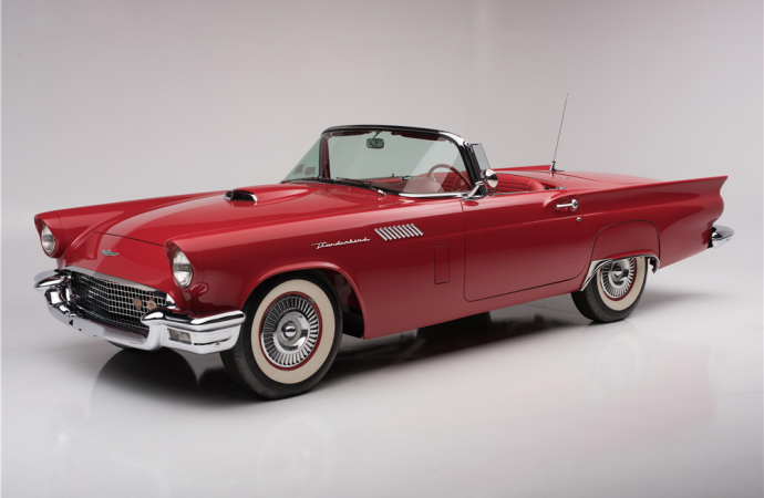Countdown to Barrett-Jackson Palm Beach 2016: 1957 Ford Thunderbird F-code convertible
