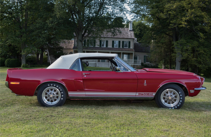 Countdown to Barrett-Jackson Palm Beach 2016: 1968 Ford Shelby GT500KR convertible