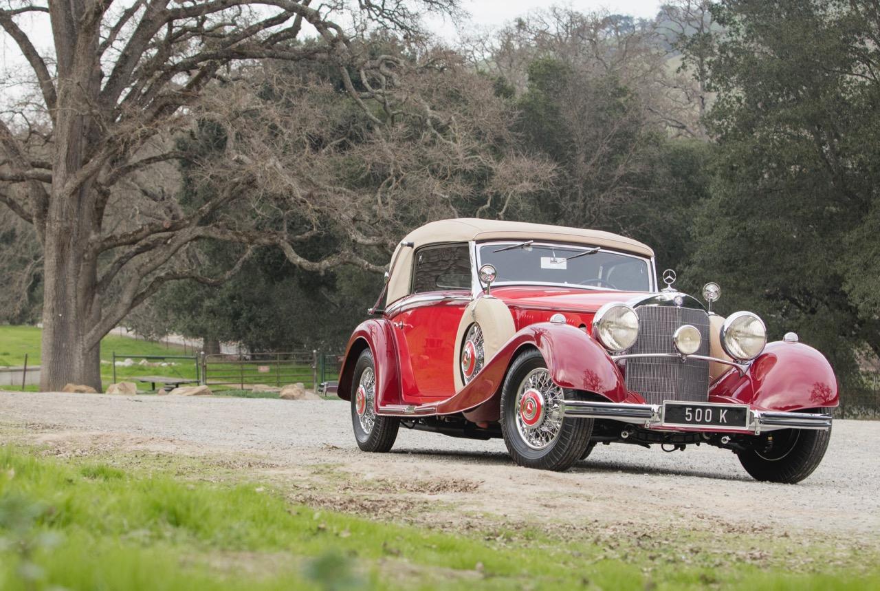 1936 500K sports roadster