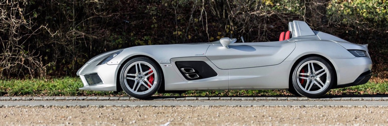The 'Stirling Moss' edition 2009 Mercedes SLR McLaren | Bonhams photos