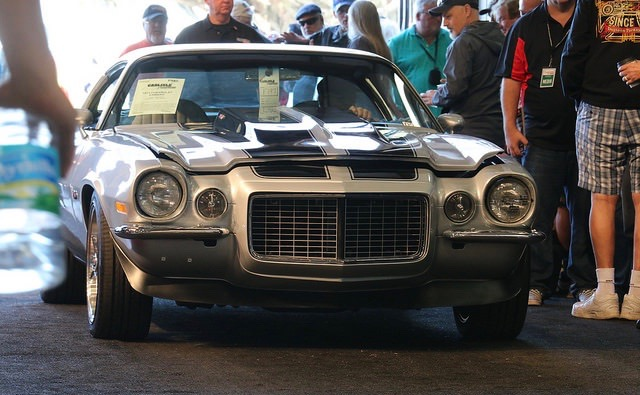 A second-generation Chevrolet Camaro is on the block at Carlise's Florida sale | Carlisle Auctions photos