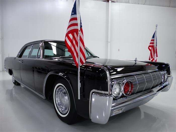 1962 Lincoln Continental Presidential Limousine Classiccars Com