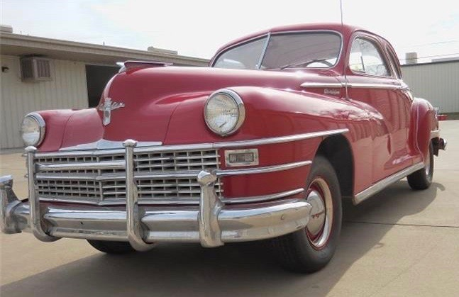 1948 Chrysler Royal club coupe
