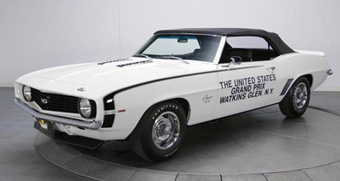 1969 U S Grand Prix Pace Car Offered At Vicari S Tampa