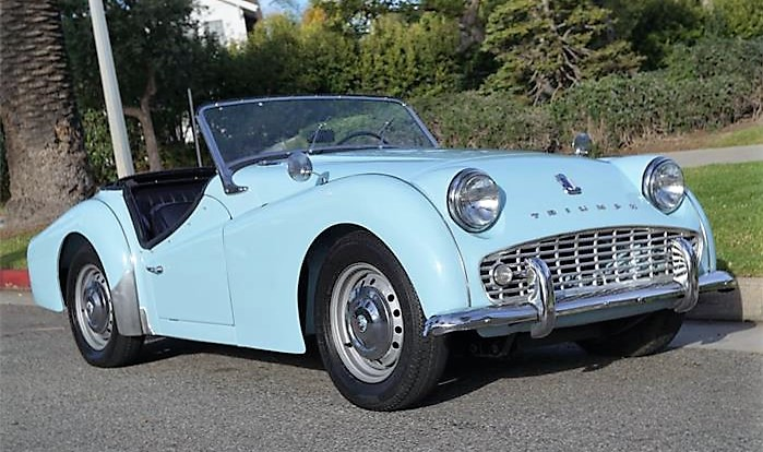 The 1961 Triumph TR3A offers a very British sports-car driving experience