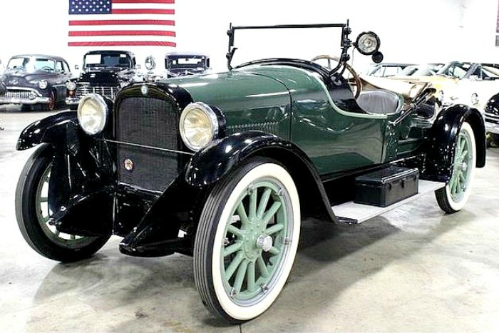 The 1924 Dodge Brothers roadster looks to be an original custom sports car built in period
