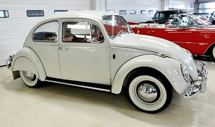 The 1965 Volkswagen Beetle has just 22,553 miles on its odometer