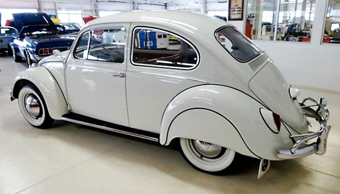 The Volkswagen wears great-looking fender skirts