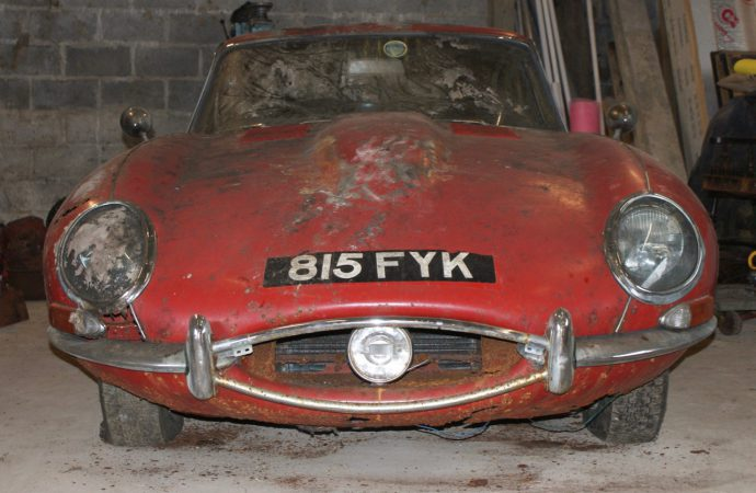 Beatles-linked Jag in the bush brings $82,400 at auction