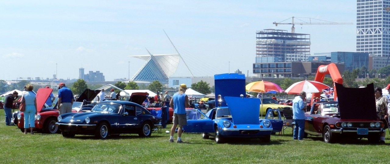 Show & Glow vehicle owners also are admitted to the concours on Sunday