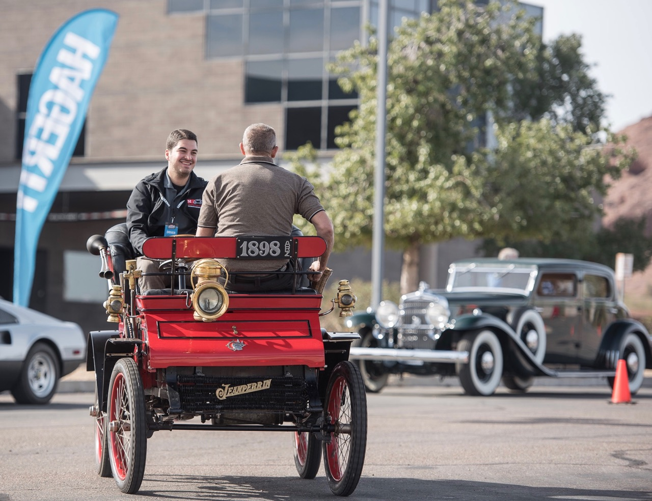 Imagine your first drive in a century-old vehicle