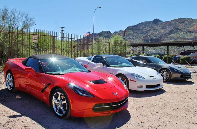 Corvette museum-in-motion tour visits Arizona