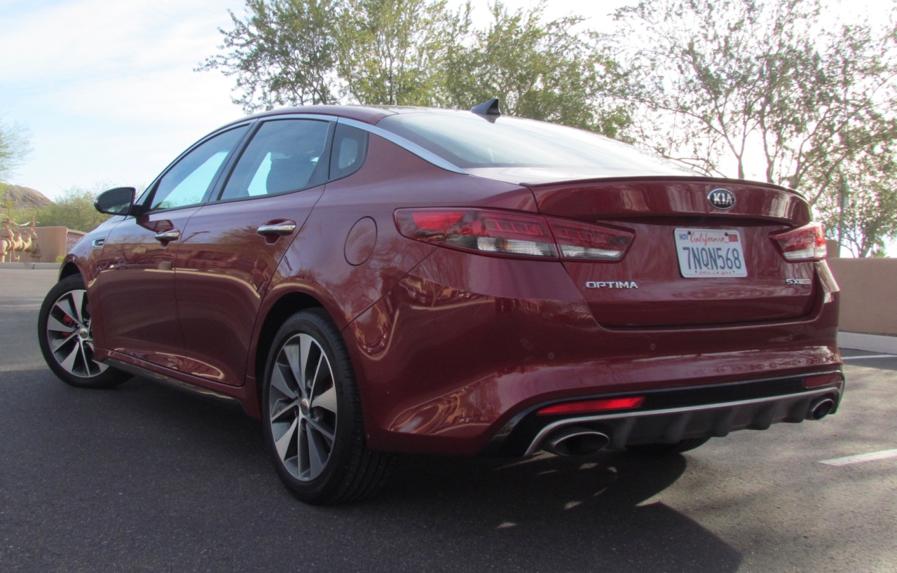 Turbocharged Optima can show its heels to traffic