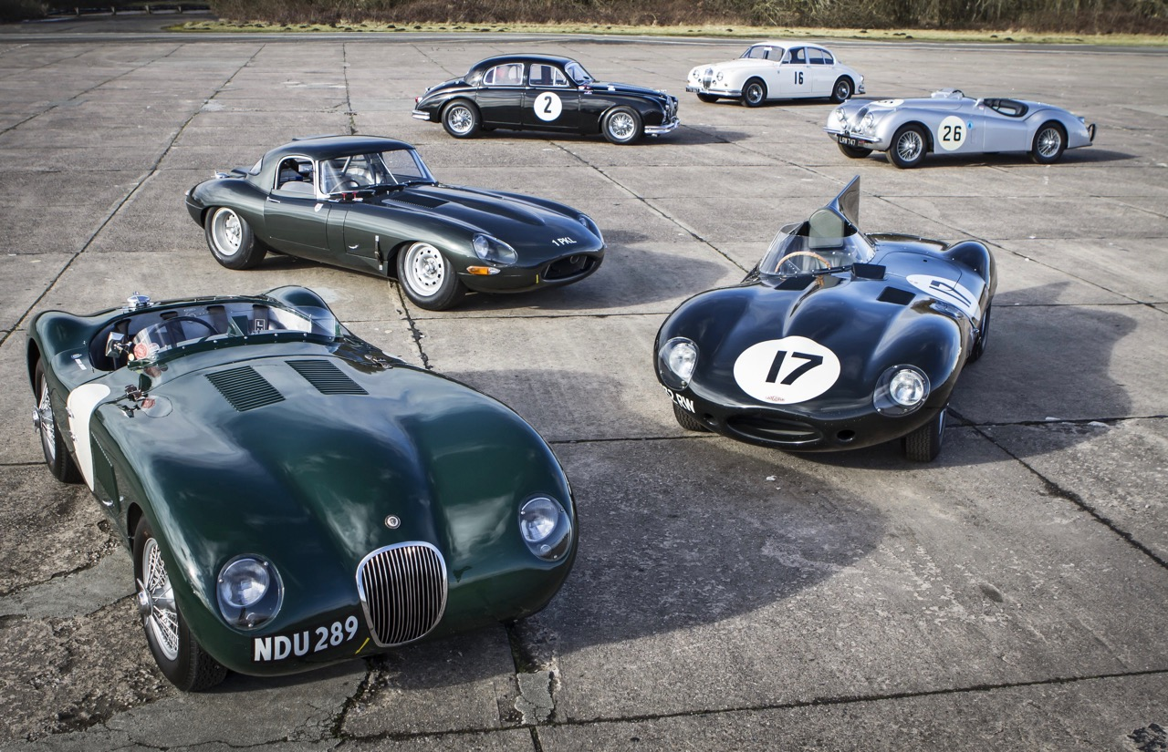 Jaguar's heritage becomes classic | Jaguar Land Rover photos