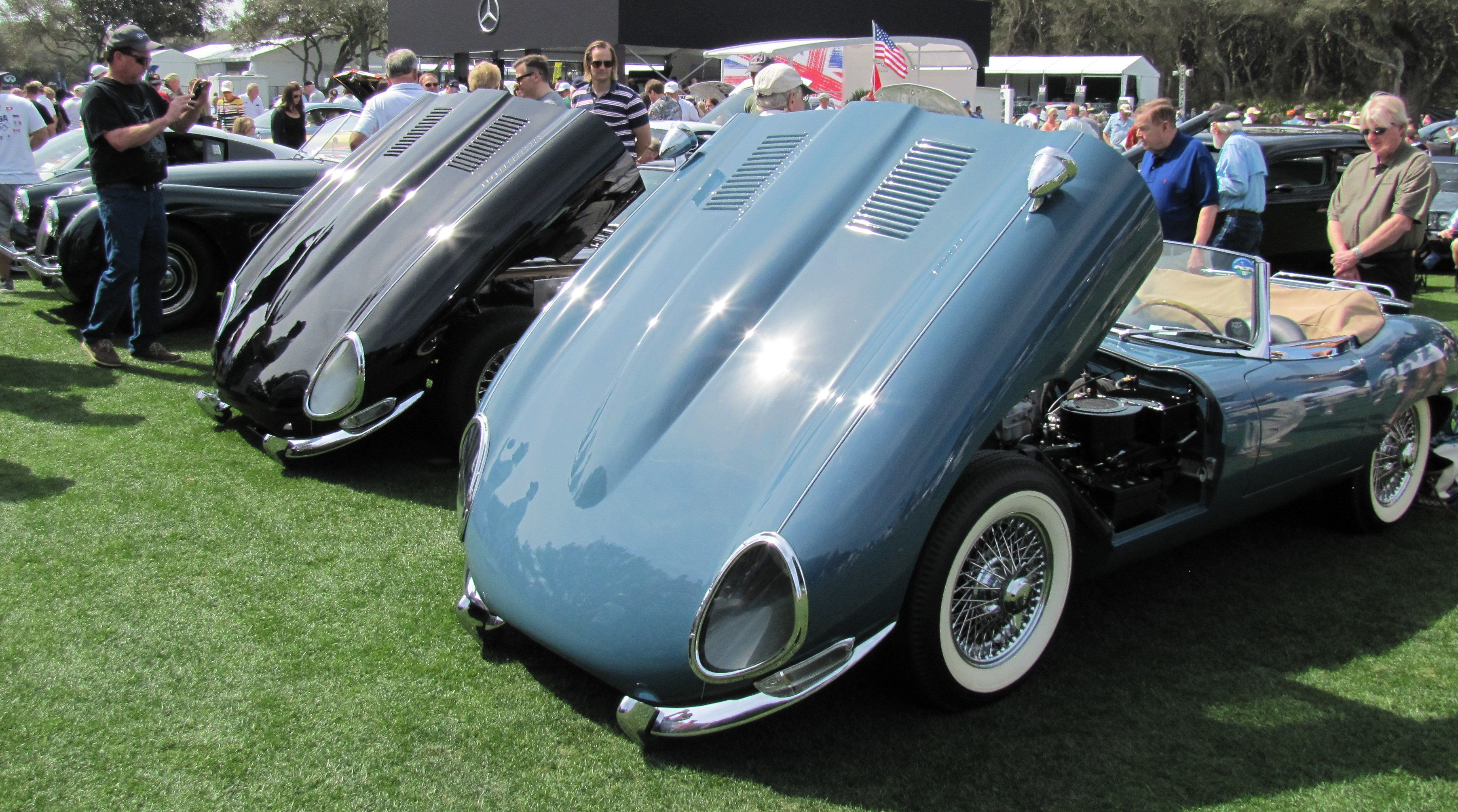 Cars and Coffee at the Concours on Amelia Island - ClassicCars.com ...