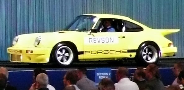 The 1974 Porsche 911 Carrera 3.0 IROC RSR sold above expectations