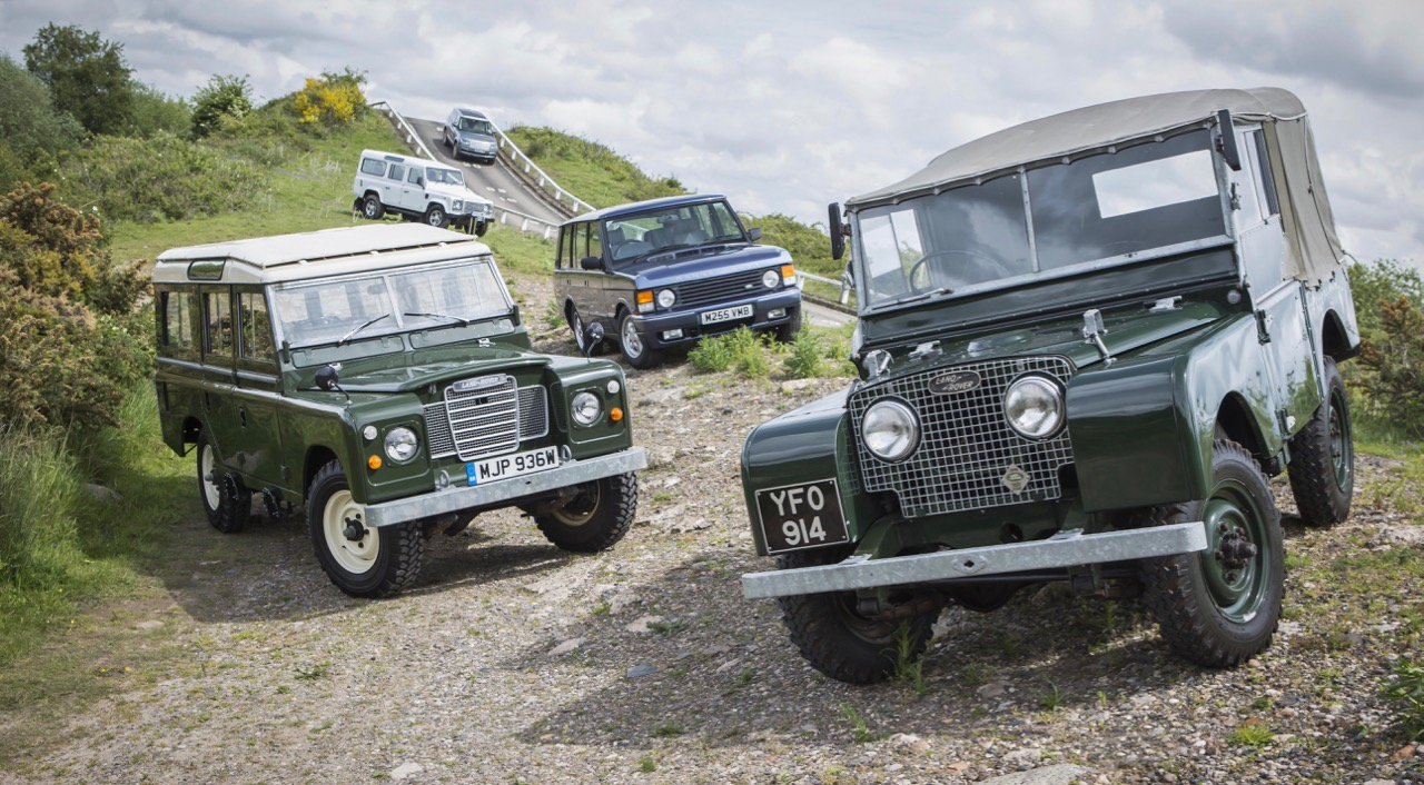 Land Rover Classics, as well