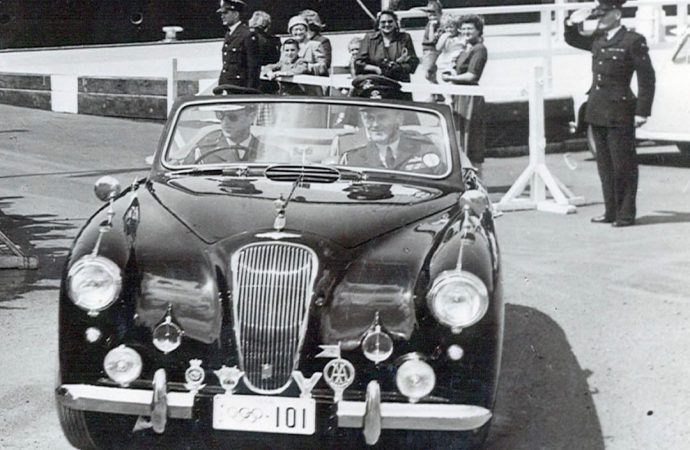 Prince Philip's 1954 Lagonda headed for H&H auction block