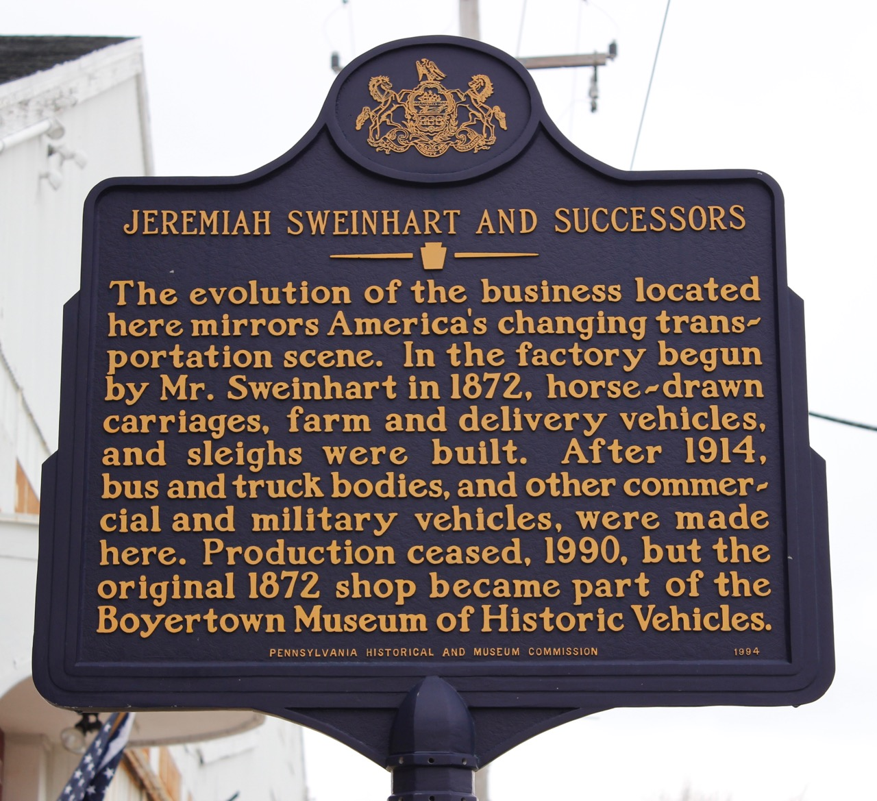 Boyertown Museum of Historic Vehicles - ClassicCars.com Journal