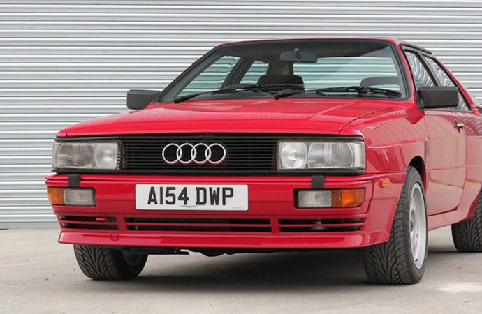 Mansell's '84 Audi quattro headed to auction