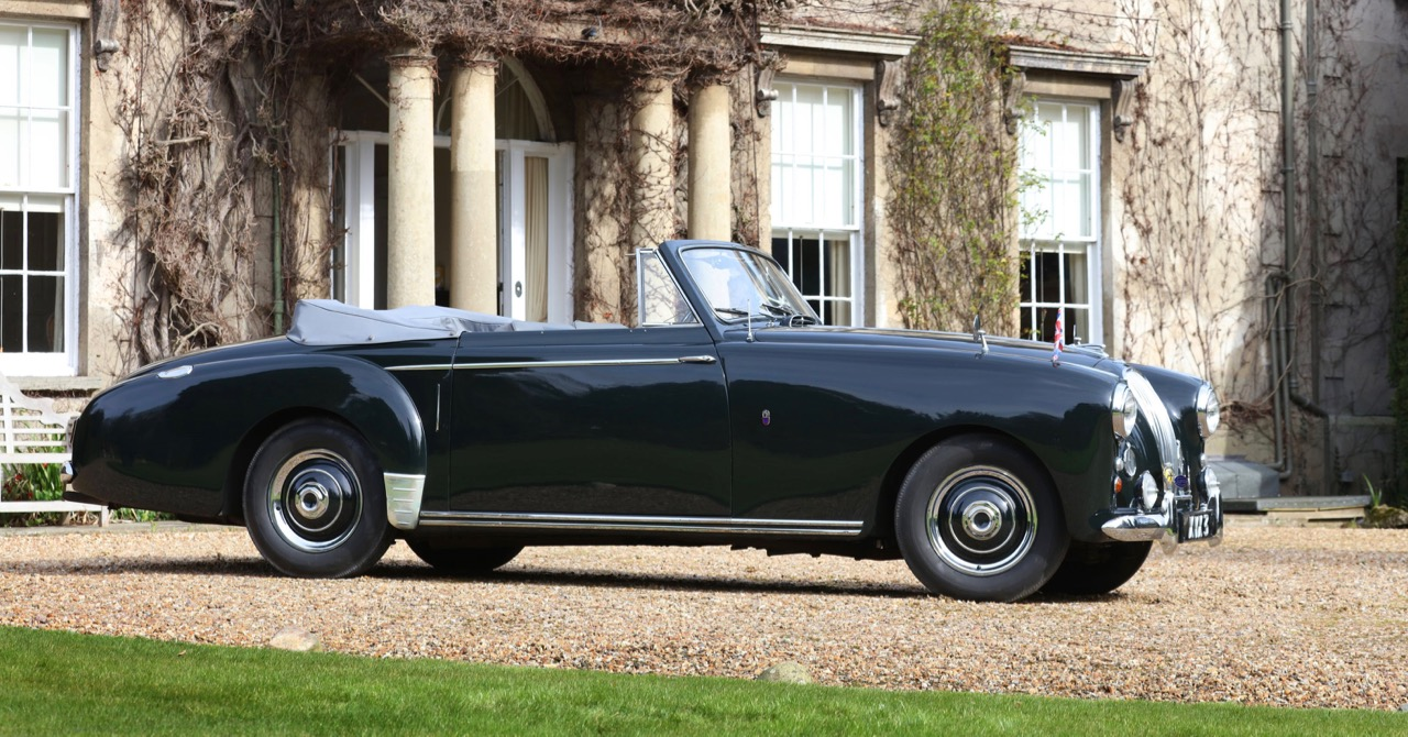 1954 Labonda 3-liter convertible originally owned by the Duke of Edinburgh | H&HClassics photos
