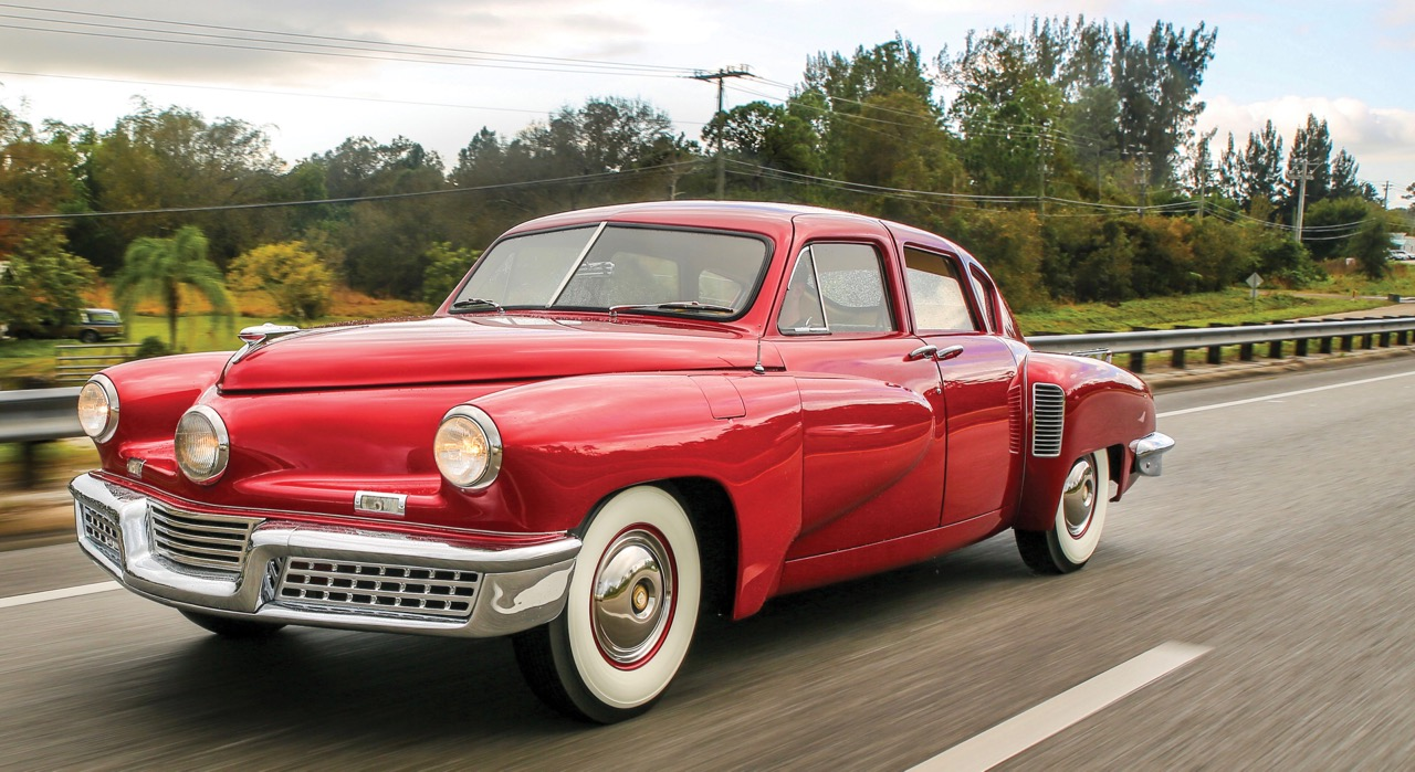 Tucker 48 was assembled from factory parts | Auctions America photos by Ryan Merrill