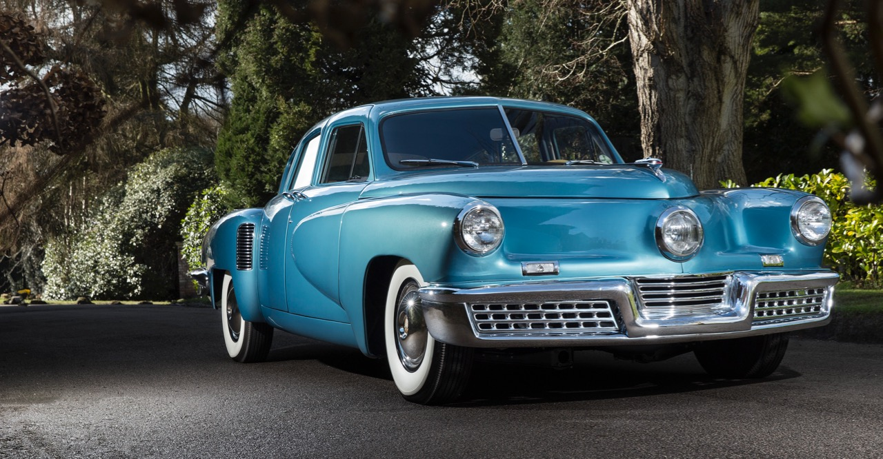 Tucker 48 is one of only two known to be held in European ownership | RM Sotheby's photos